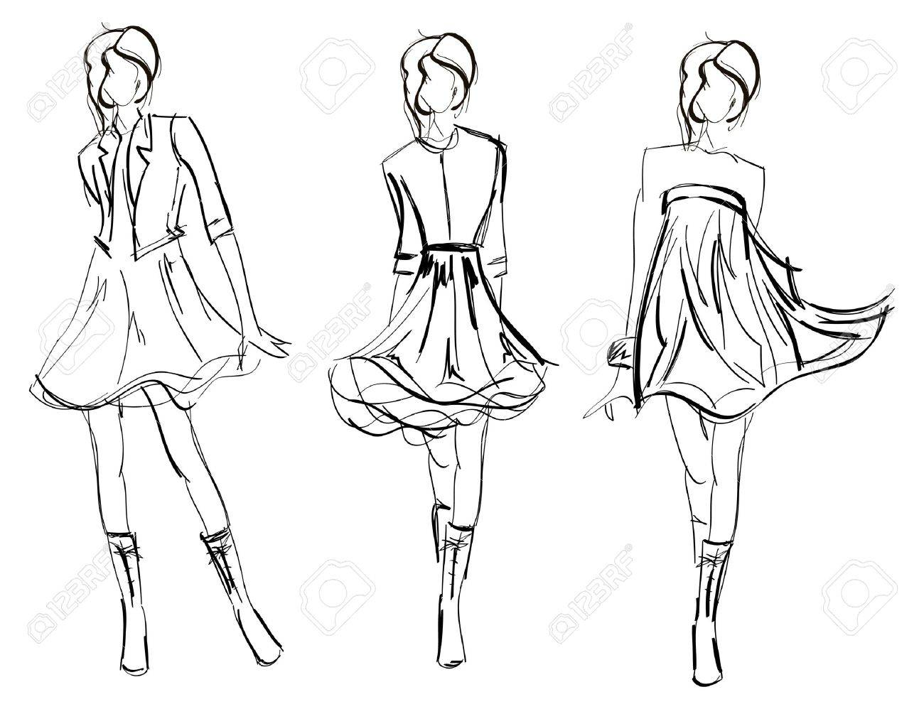 Fashion Templates 33 Free Designs Inspiration Jpg Format