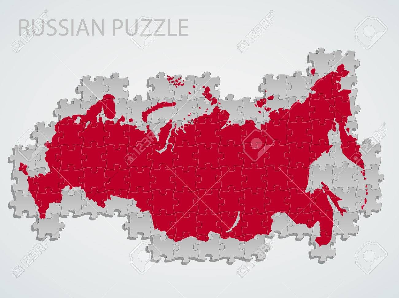 Russia map puzzle royalty free cliparts vectors and stock russia map puzzle stock vector 37443620 gumiabroncs Images