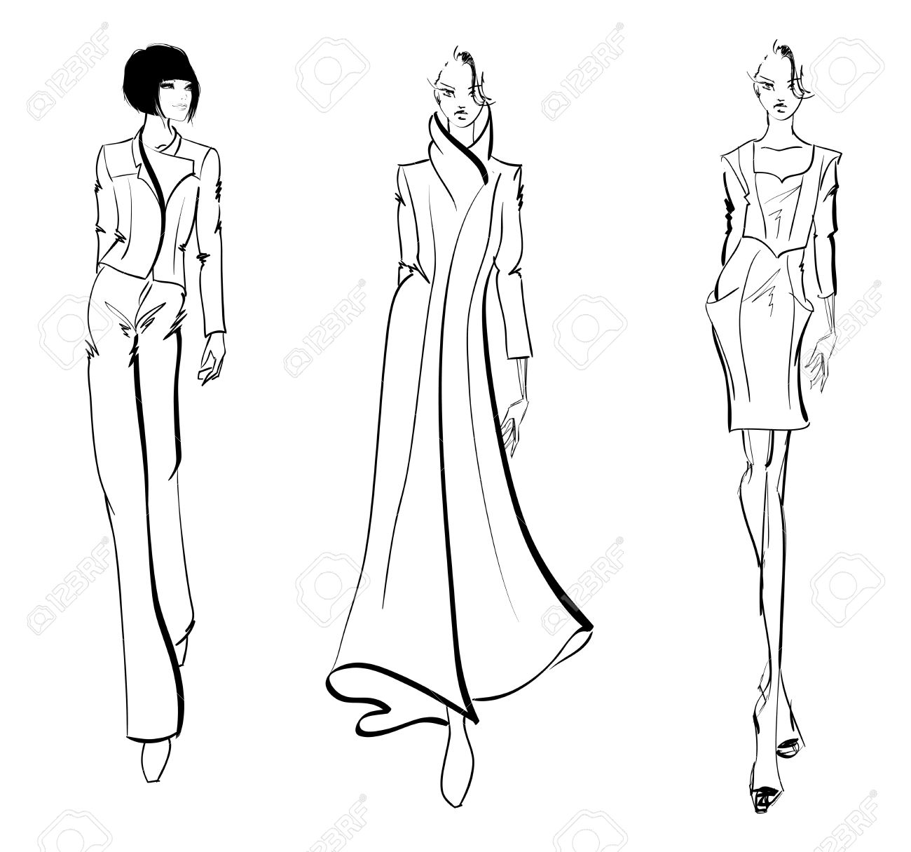 SKETCH. fashion girls - 39121408