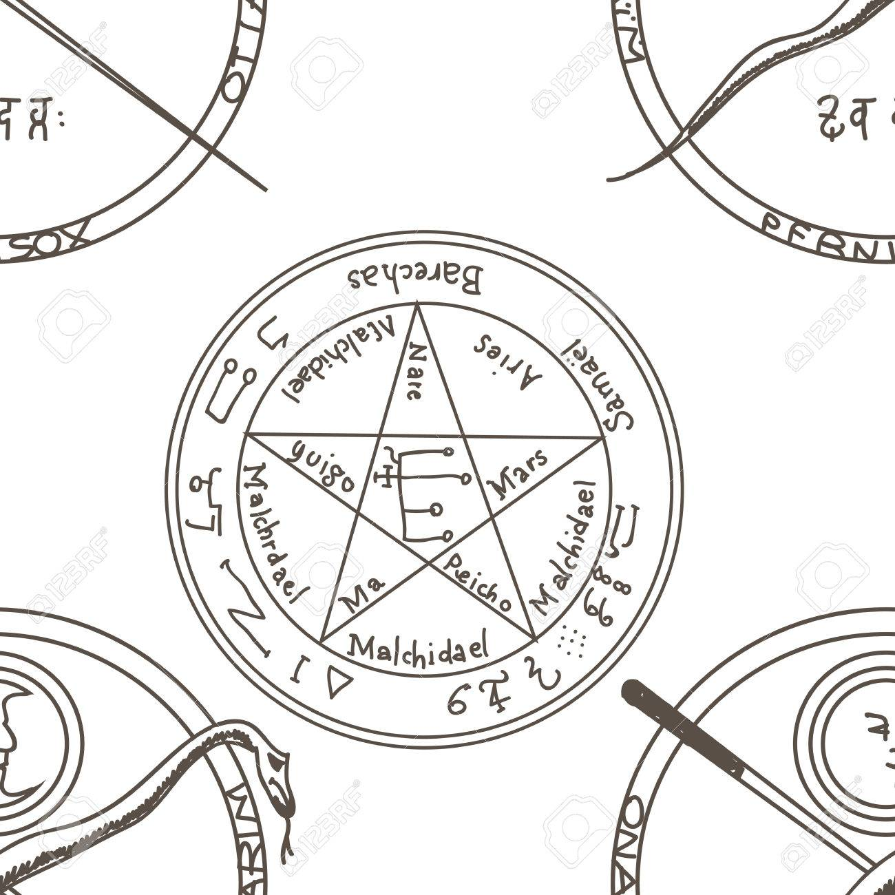 Magical Occult Diagram Diy Enthusiasts Wiring Diagrams