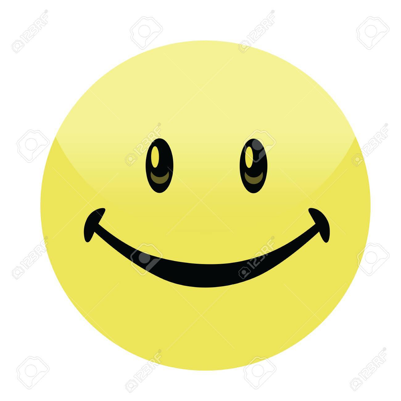 happy smiley face button badge vector royalty free cliparts rh 123rf com vector icons of smiley faces vector smiley face free download