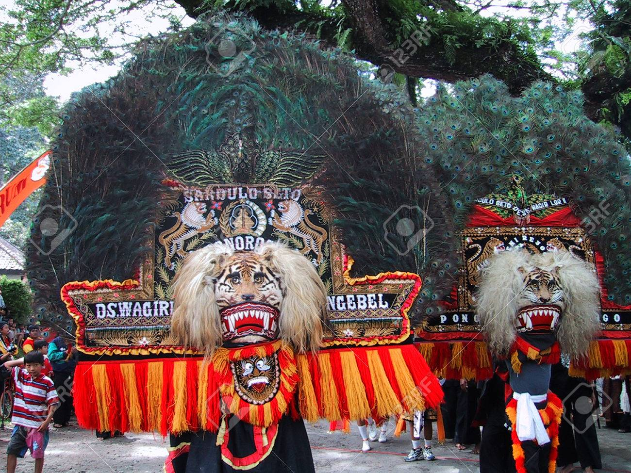 Reog ponorogo stock photos royalty free reog ponorogo images performance traditional dance reog ponorogo in ngebel lake ponorogo east java indonesia editorial thecheapjerseys Gallery