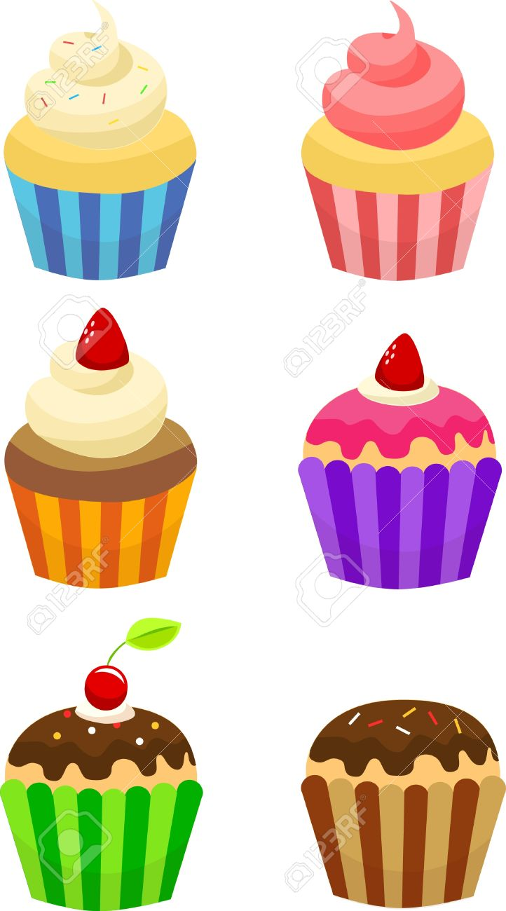 cupcakes clip art royalty free cliparts vectors and stock rh 123rf com clip art of pancakes and sausage clipart images of cupcakes
