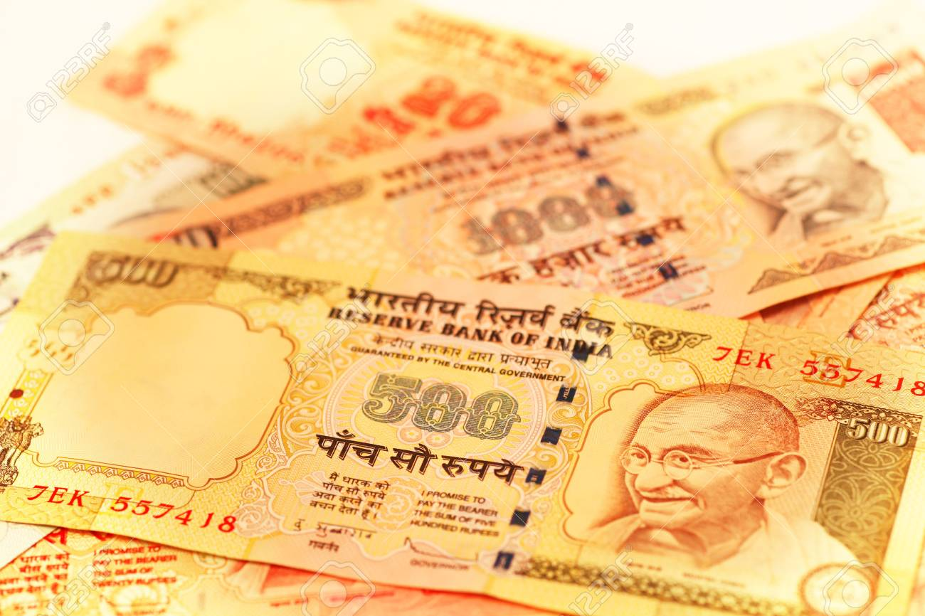 500 and 1000 Rupee note Stock Photo - 8116540