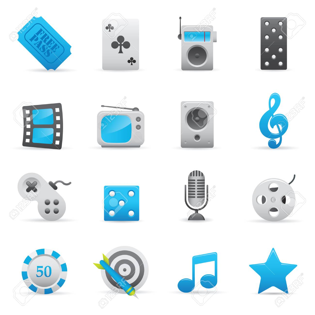 Professional icons for your website, application, or presentation. Stock Vector - 7292974