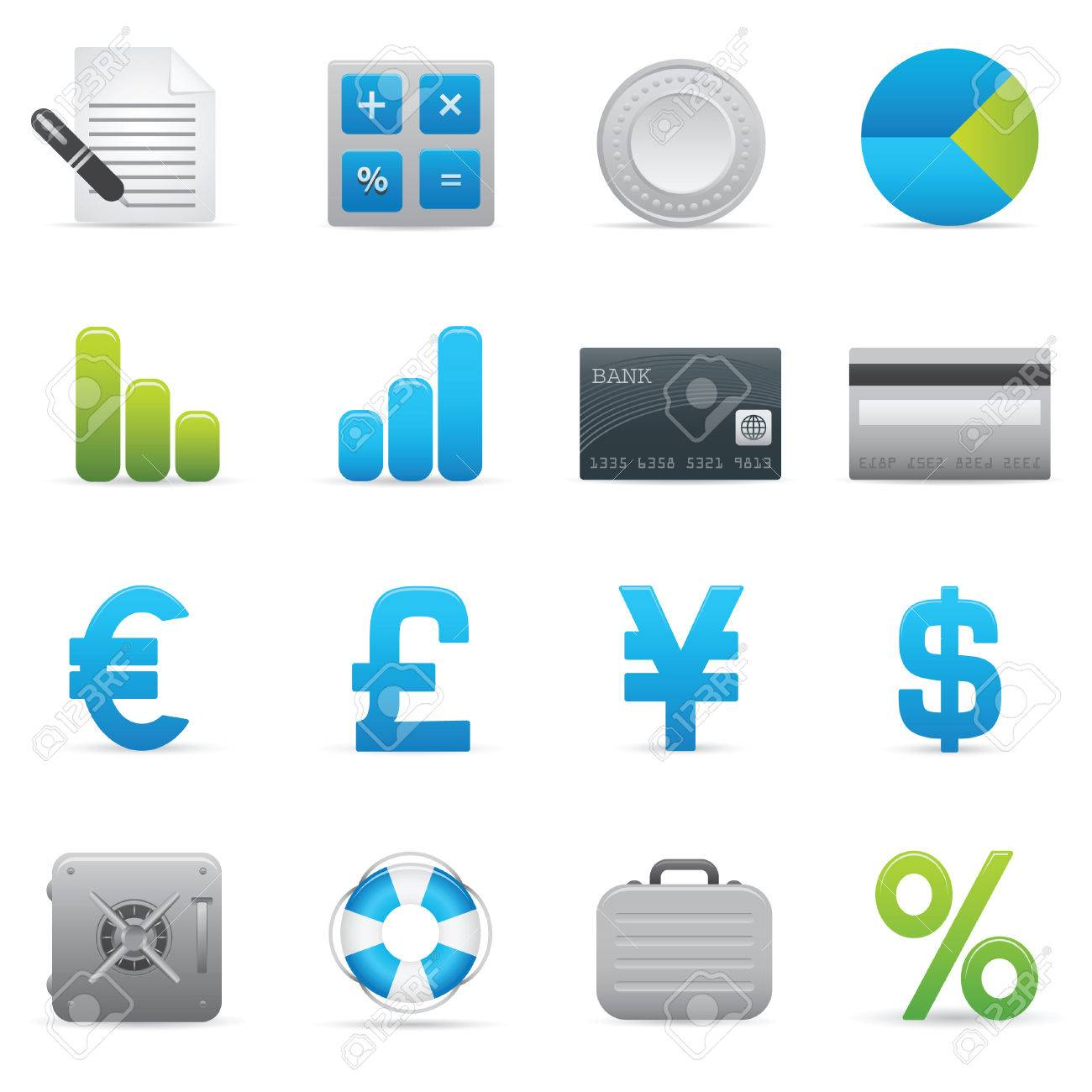 Professional icons for your website, application, or presentation. Stock Vector - 7310796