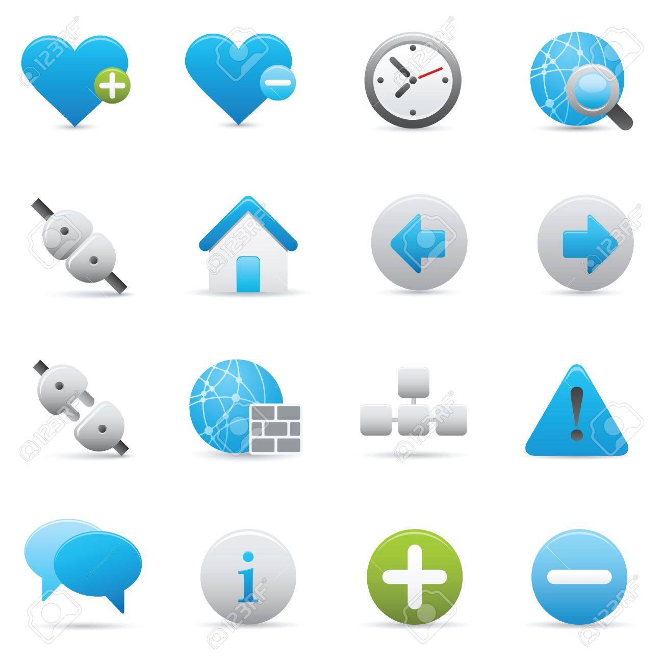 Professional icons for your website, application, or presentation. Stock Vector - 7310797
