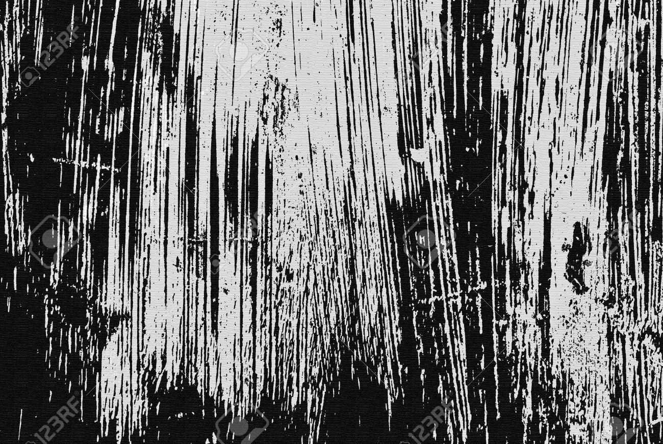 Black and white scratched on canvas texture, grunge background Stock Photo - 11992601