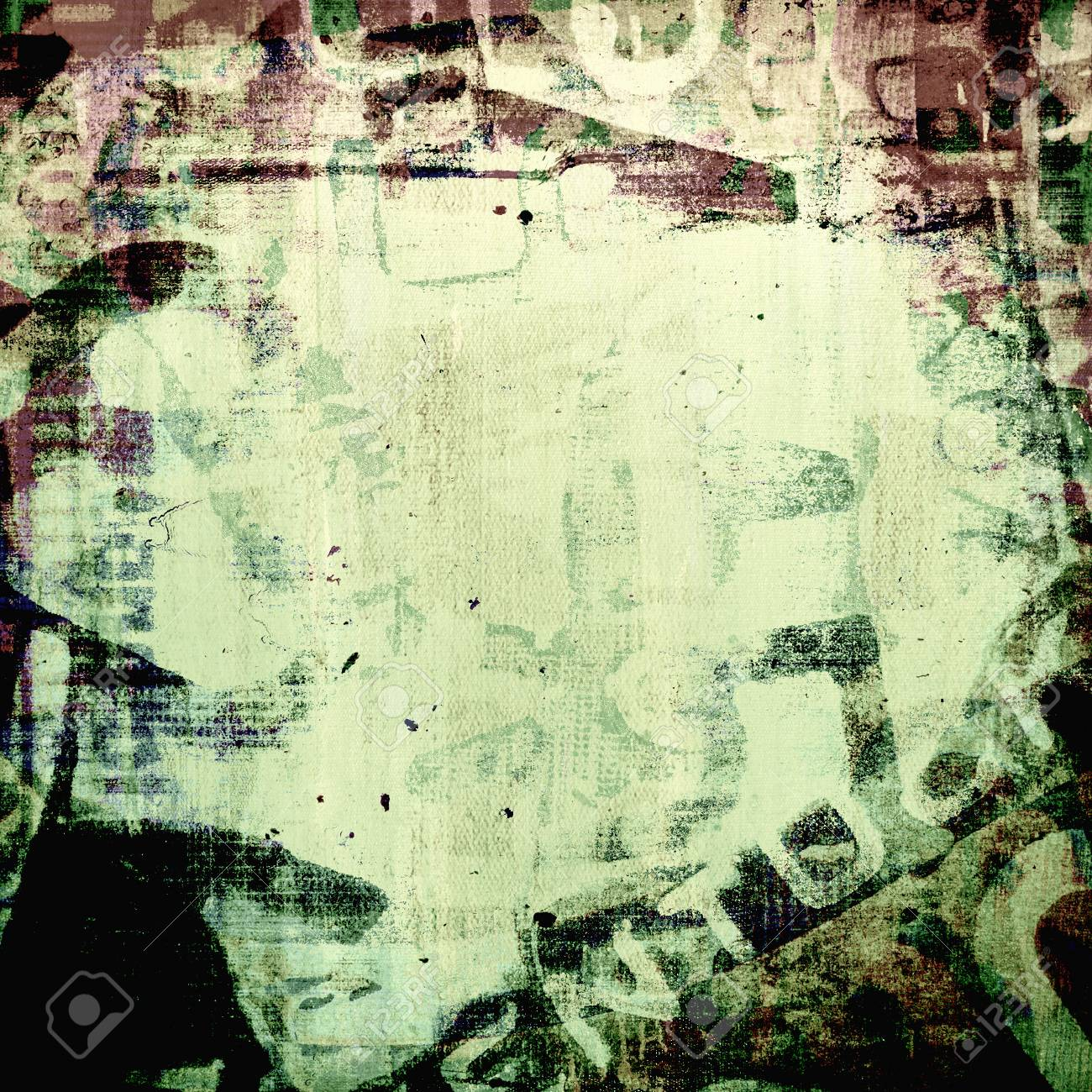Abstract Grunge Background, Mixed Media Stock Photo, Picture And ...