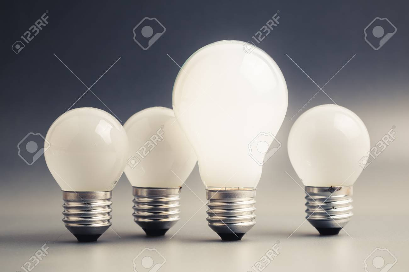 two small bulb background bulbs free image stock big royalty glowing light photo on with