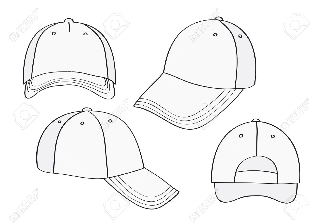 Blank Hat Template. 9 hat mock ups psd indesign ai format download ...