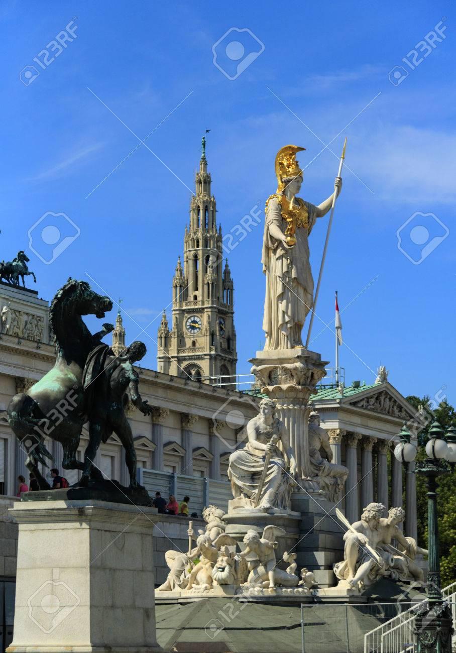 Vienna city center architecture. - 84928156