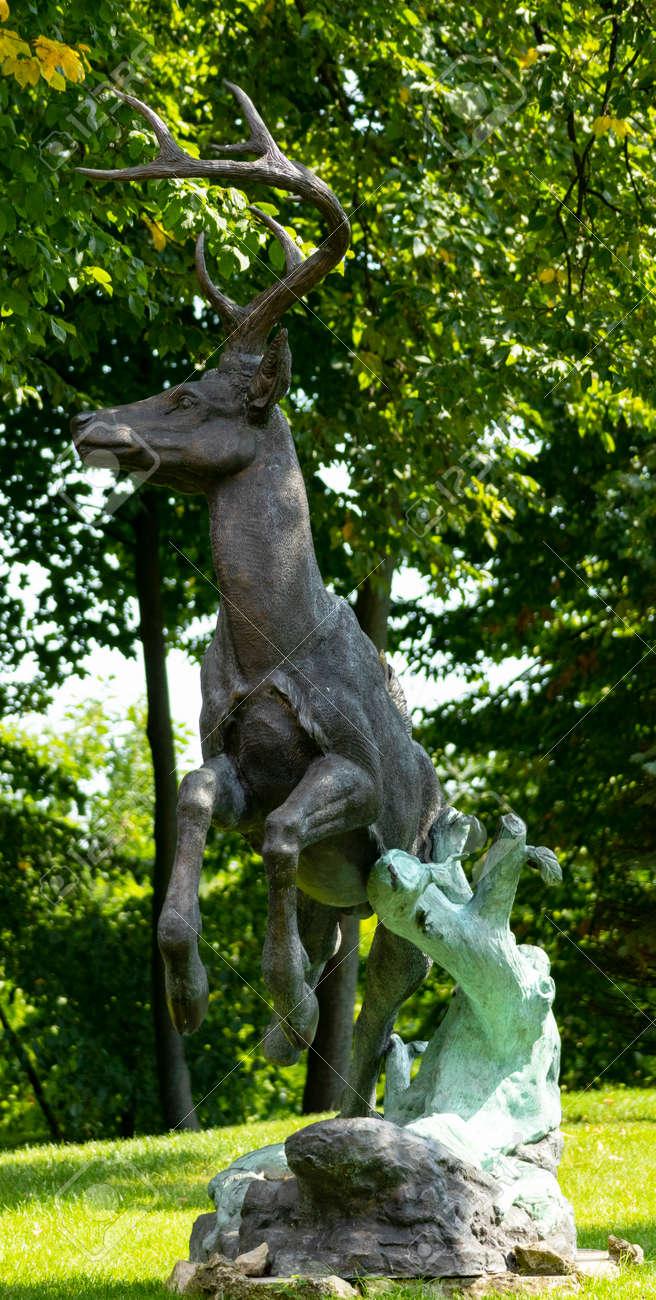 deer figure when entering ohonichi lands. - 166692735