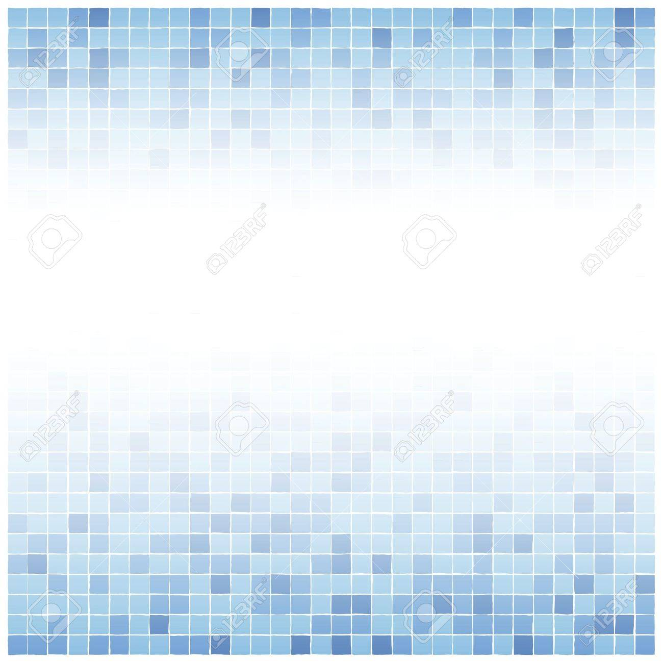 Background Of Little Irreguler Blue Tiles With White Center Fade Royalty Free Cliparts Vectors And Stock Illustration Image 19505788