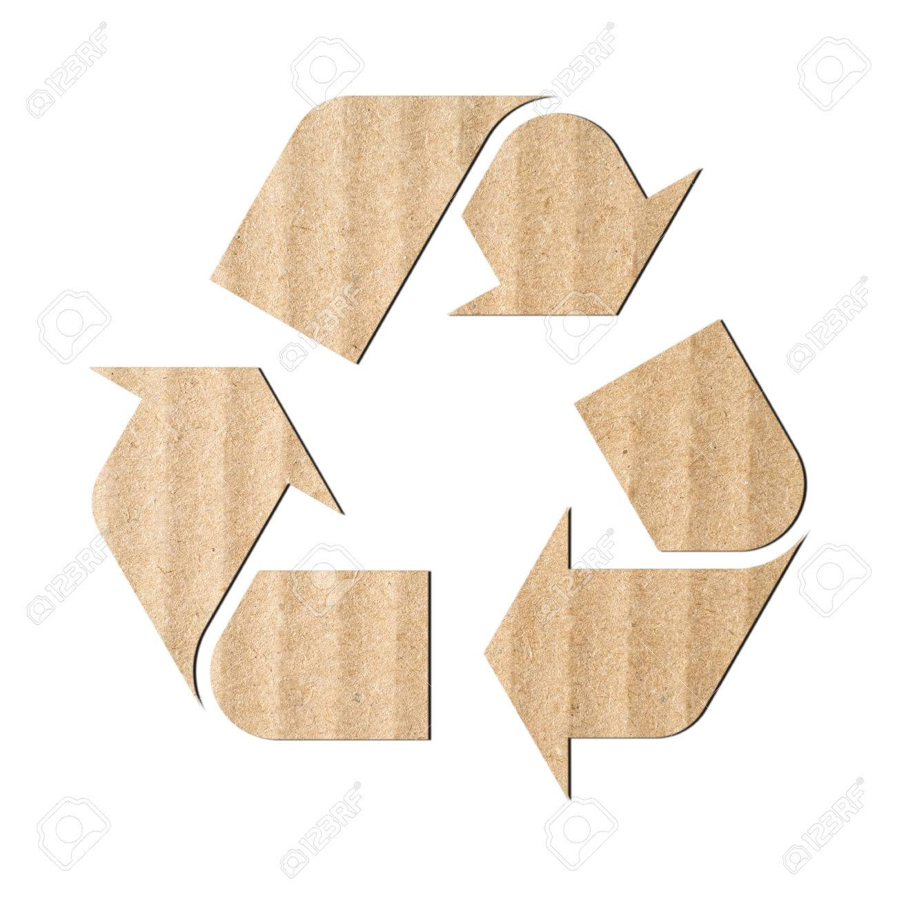 Recycling symbol made of corrugated cardboard stock photo picture recycling symbol made of corrugated cardboard stock photo 65751442 biocorpaavc Gallery