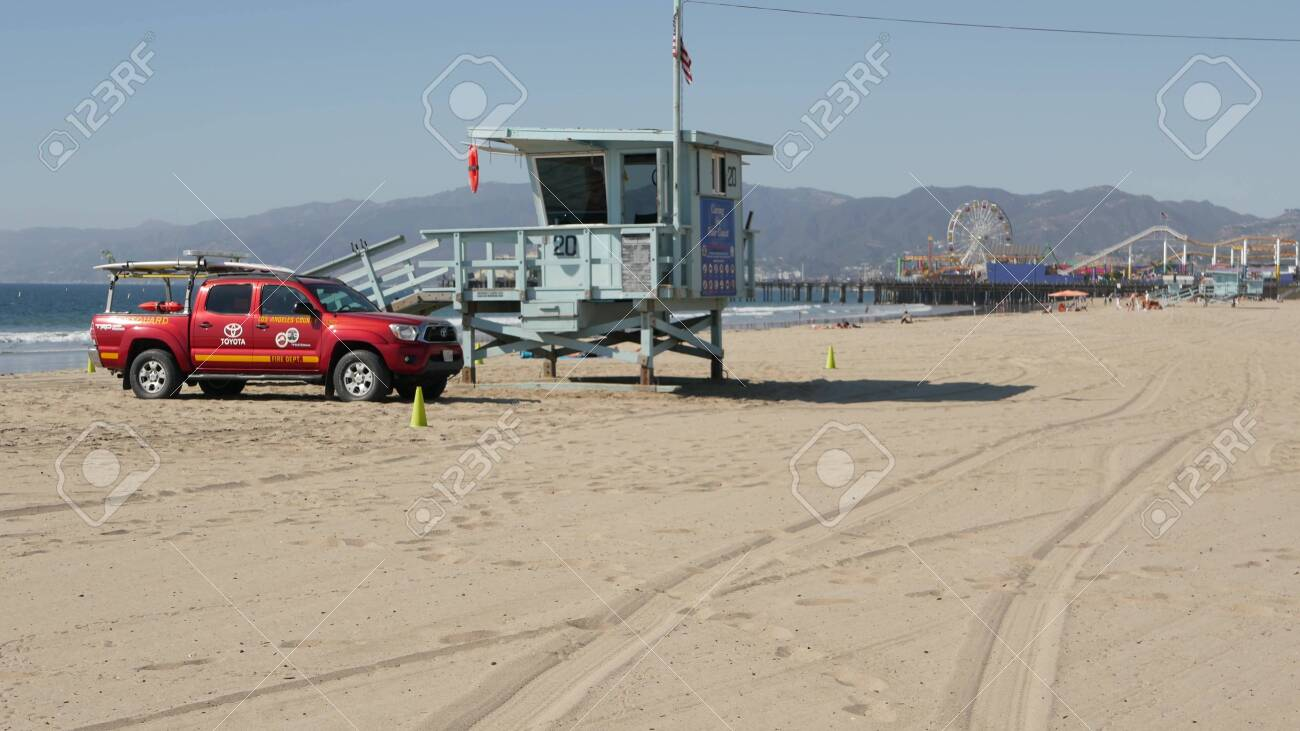 Santa Monica Los Angeles Ca Usa Oct 28 2019 California Summertime Stock Photo Picture And Royalty Free Image Image 151594467