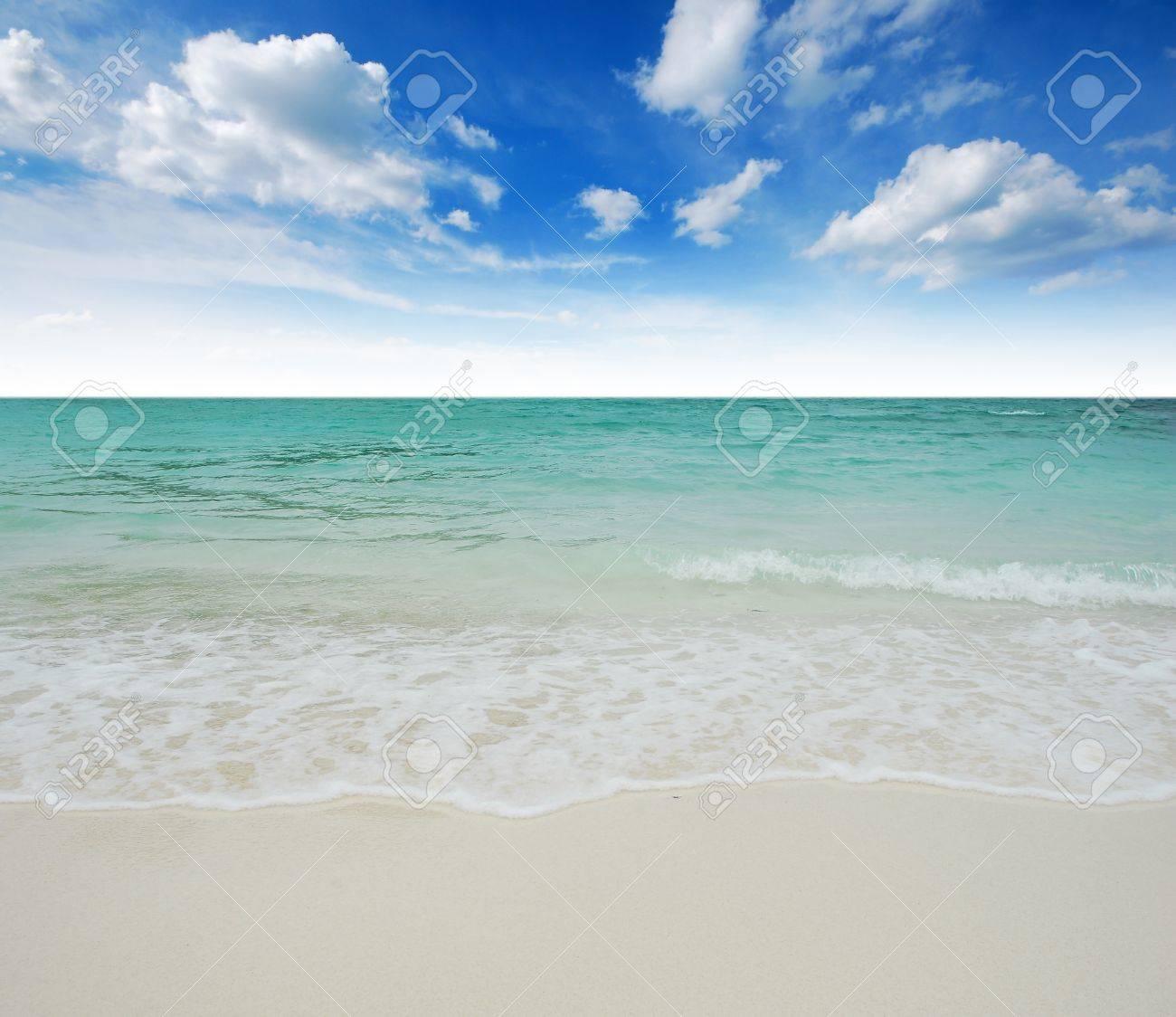 島海砂太陽ビーチ自然先壁紙とタイのクラビでデザインの背景 の写真