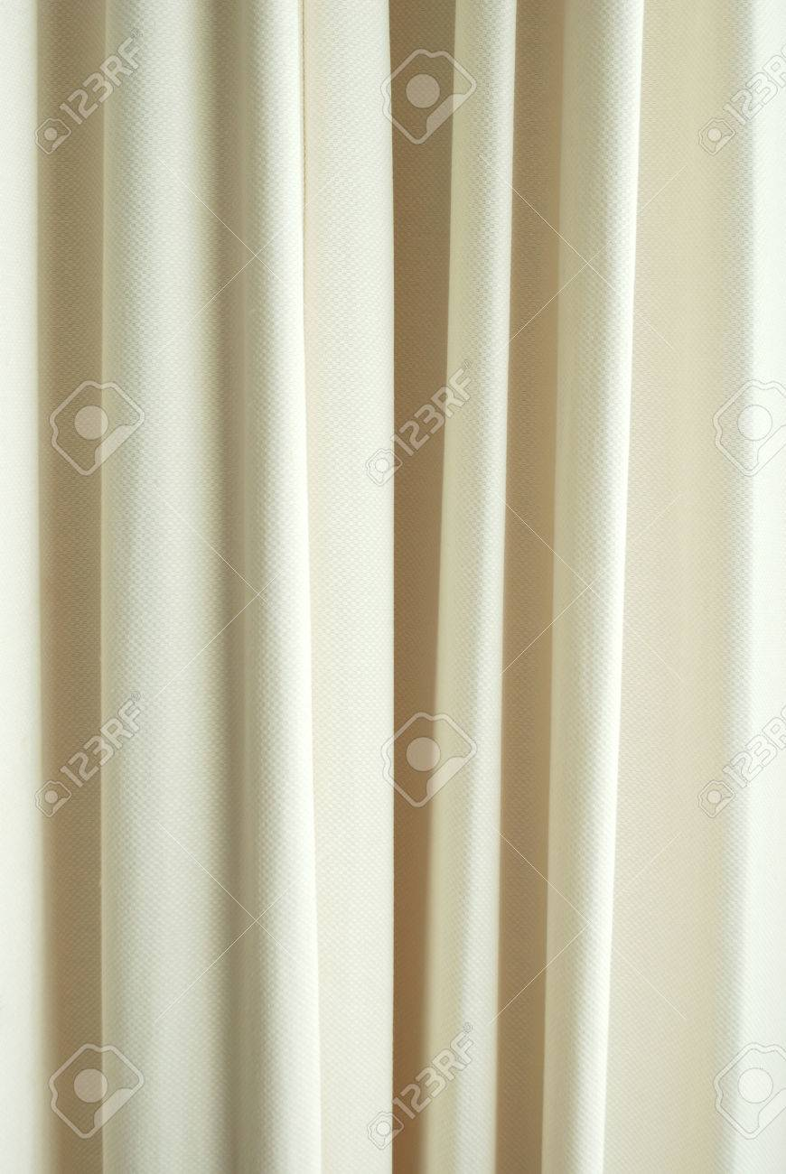 White curtain texture - Stock Photo White Curtain Texture Background Pattern For Design