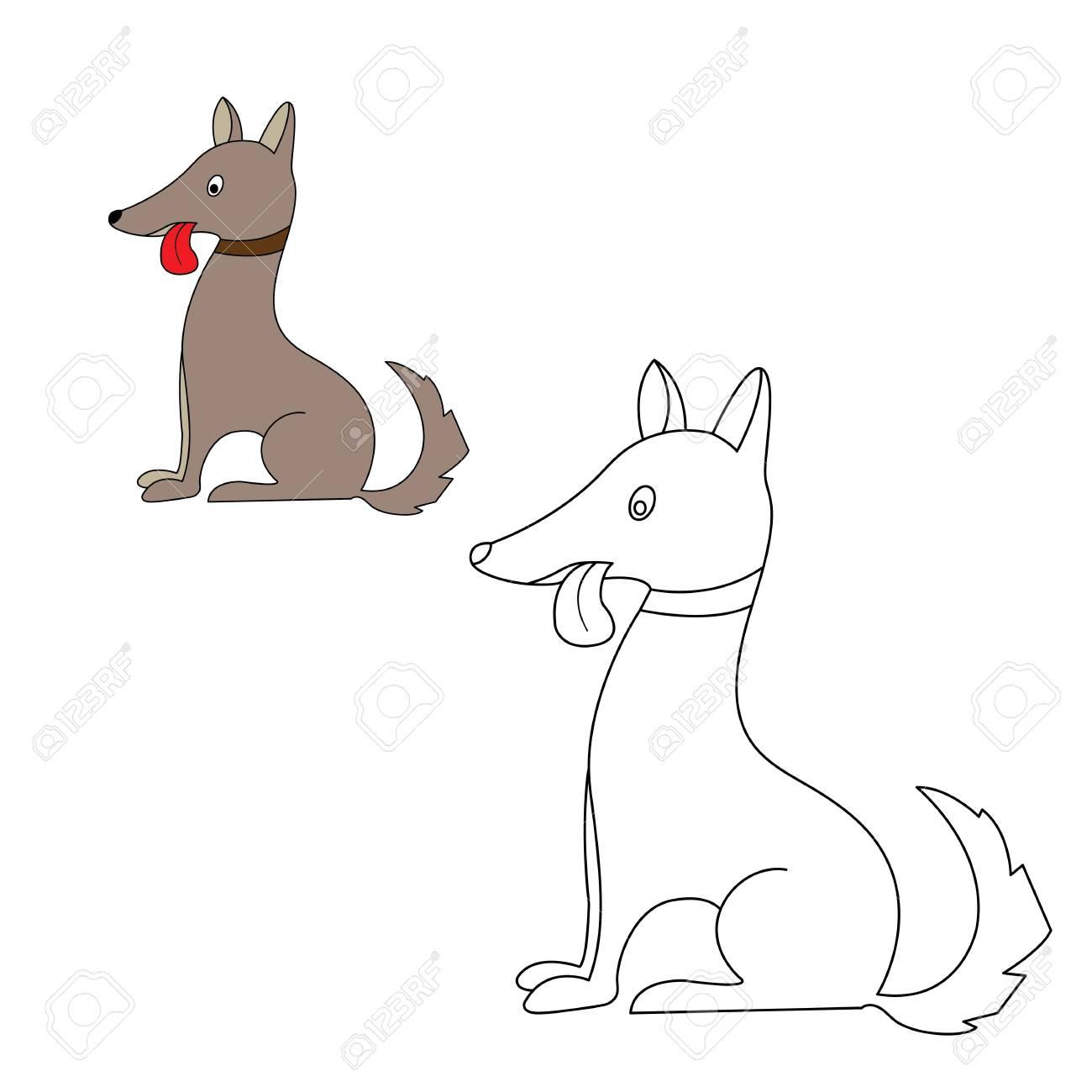 Ziemlich Hund Gesicht Färbung Seite Zeitgenössisch - Entry Level ...
