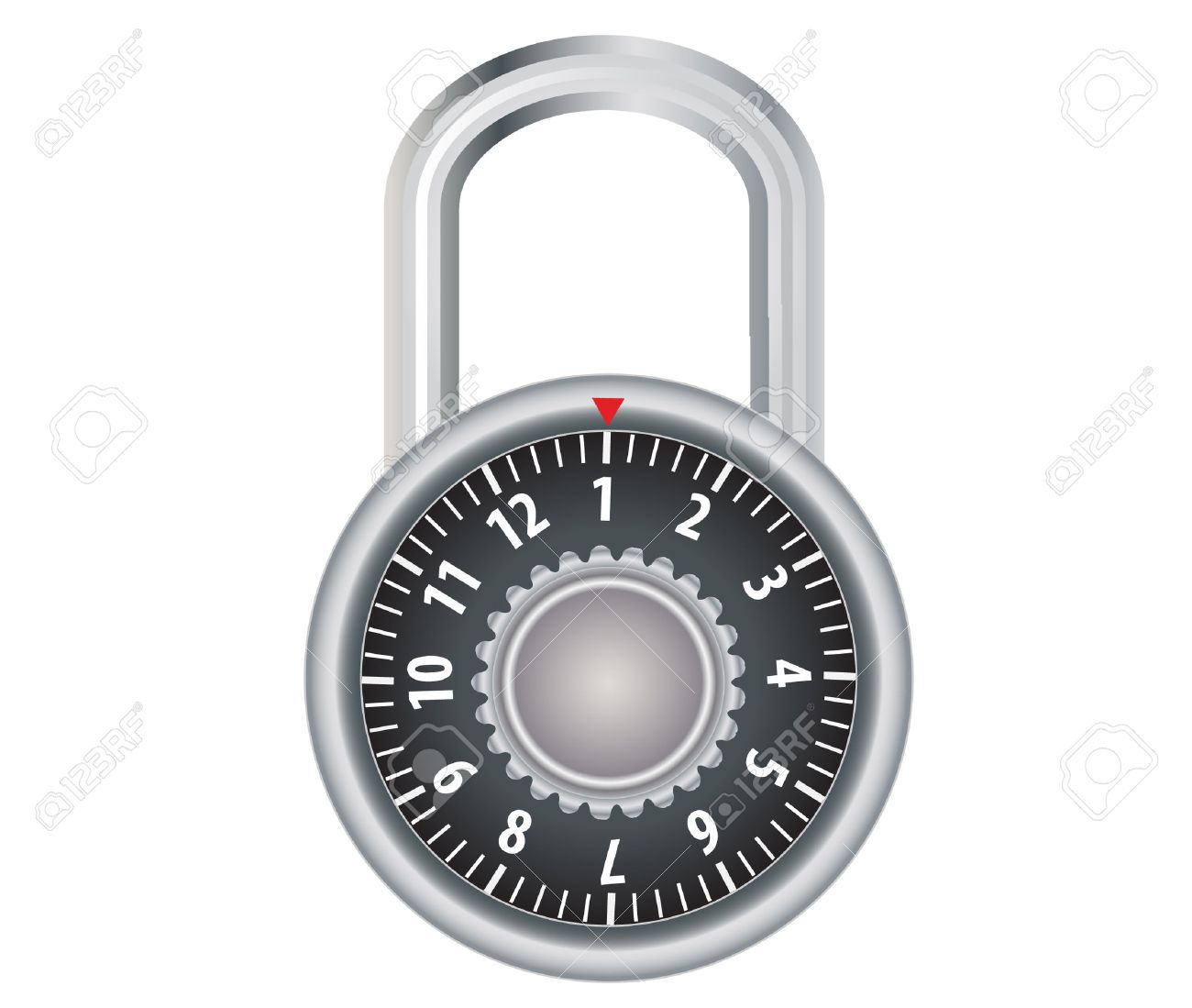 Image result for combination lock  clipart