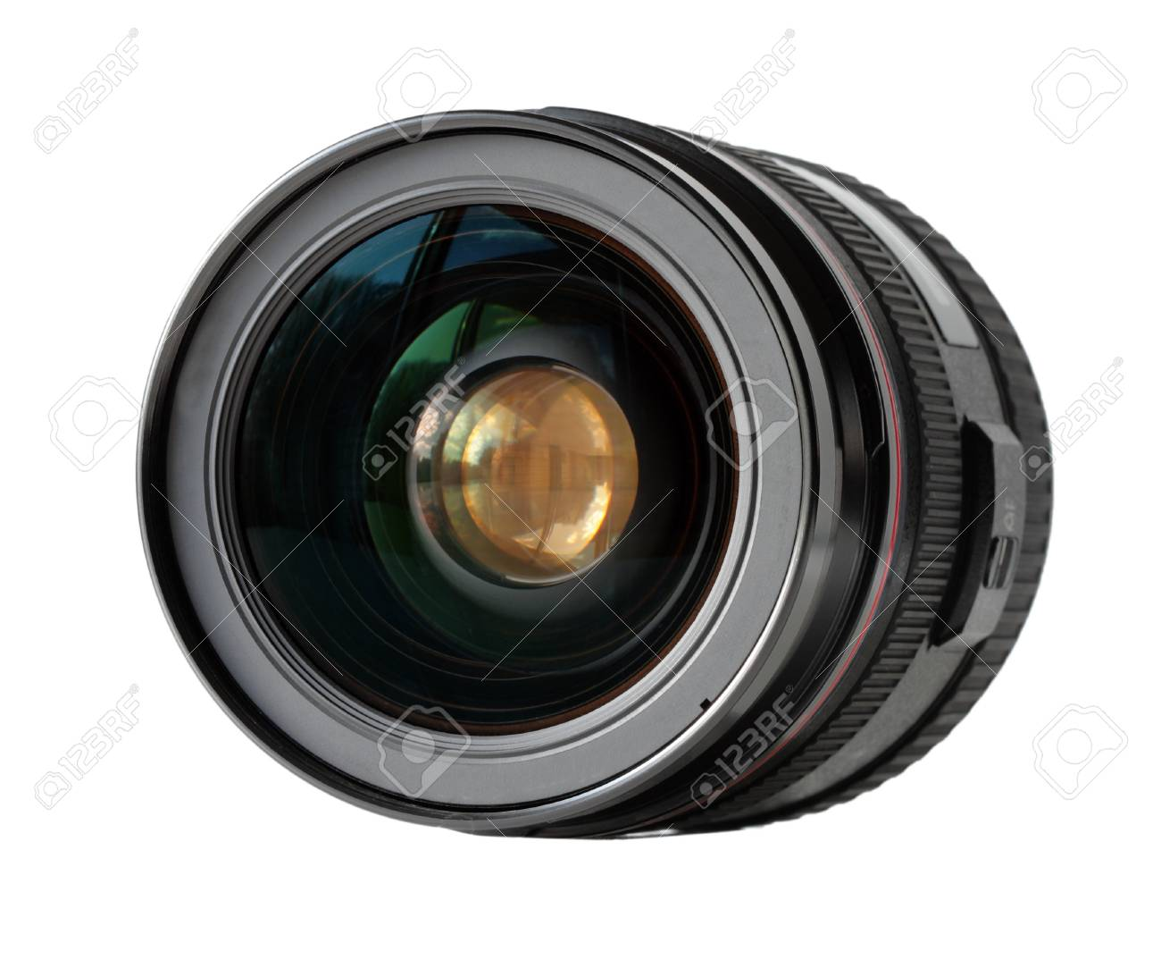Wide angle lens isolated on white background Stock Photo - 4245640