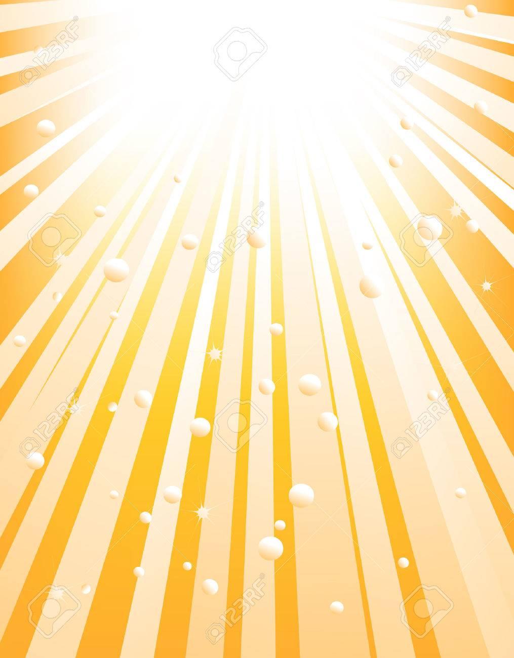 Illustration of an abstract orange starburst Stock Vector - 4457707