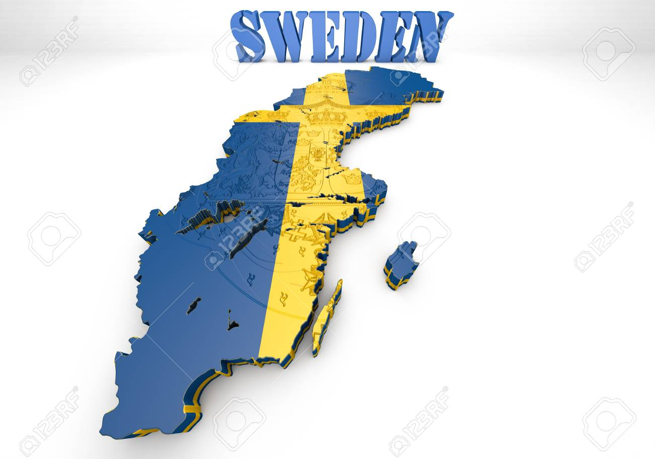 3D map illustration of Sweden with flag  D Map Of Sweden on street view of sweden, outline map of sweden, blackout map of sweden, interactive map of sweden, travel map of sweden, coloring map of sweden, cartoon map of sweden, cute map of sweden, vintage map of sweden, hd map of sweden, food map of sweden, terrain map of sweden, print map of sweden, google map of sweden, black map of sweden,