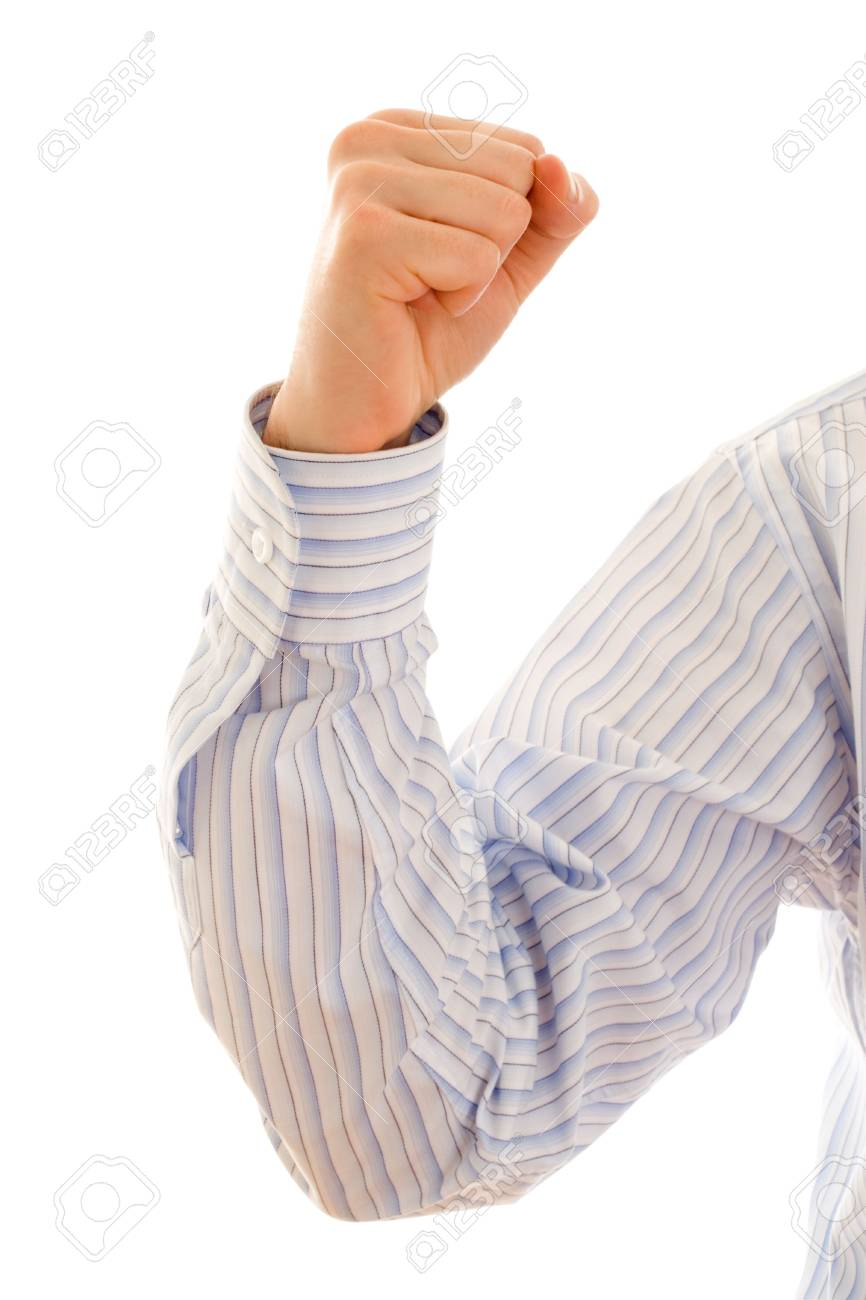 strong businessman arm Stock Photo - 450158
