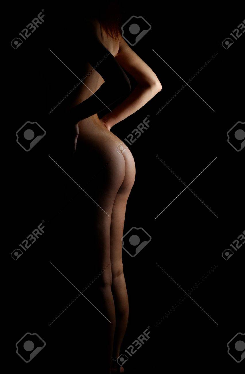 classical silhouette nude Stock Photo - 476327