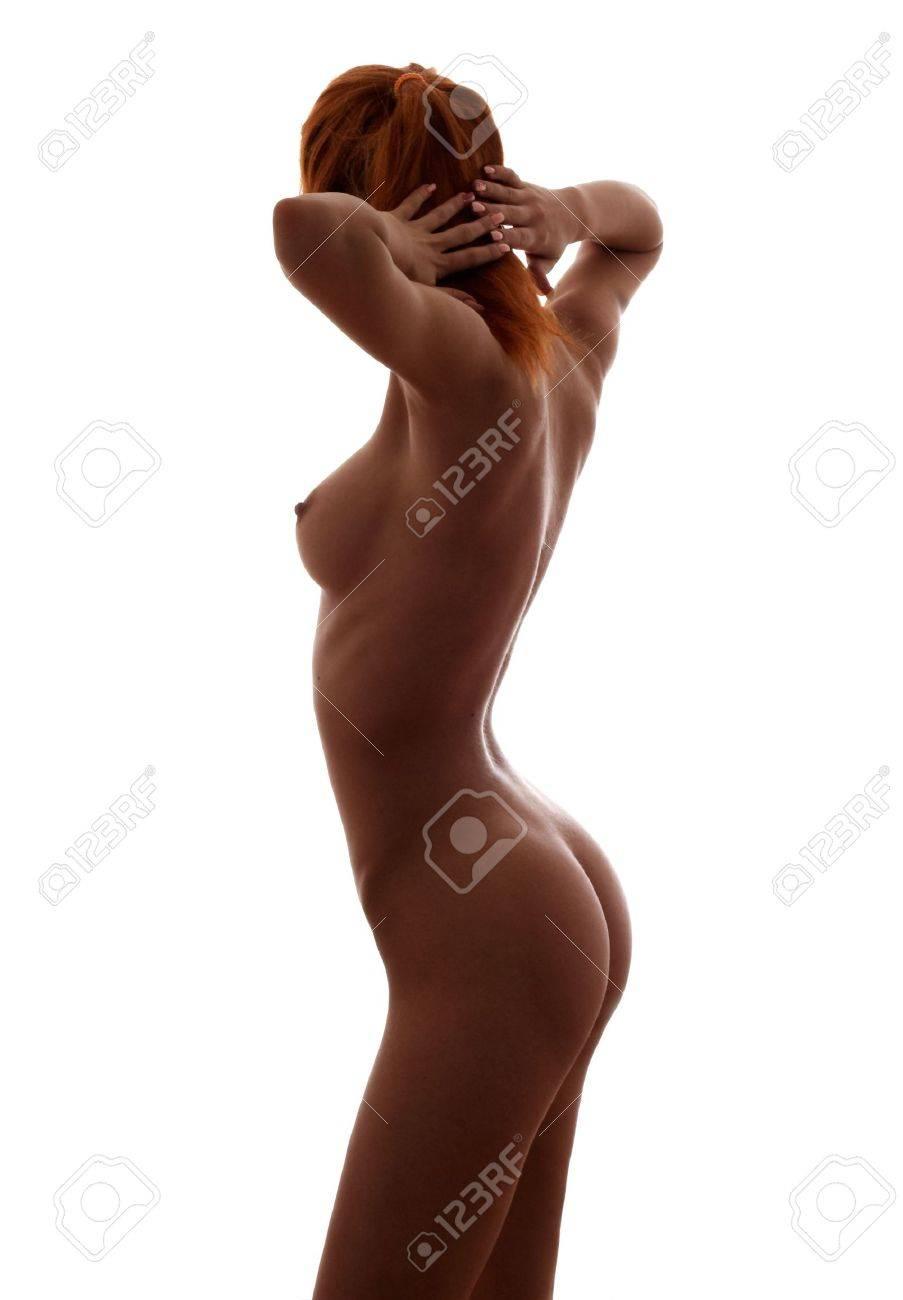 Силуэты голых девушек 17 фотография