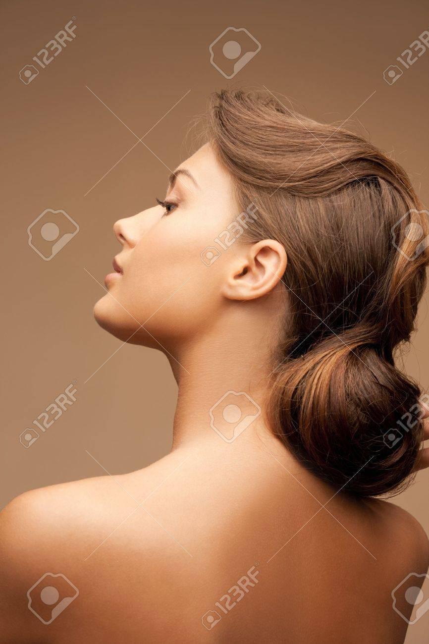 bright closeup portrait picture of beautiful woman Stock Photo - 11023757