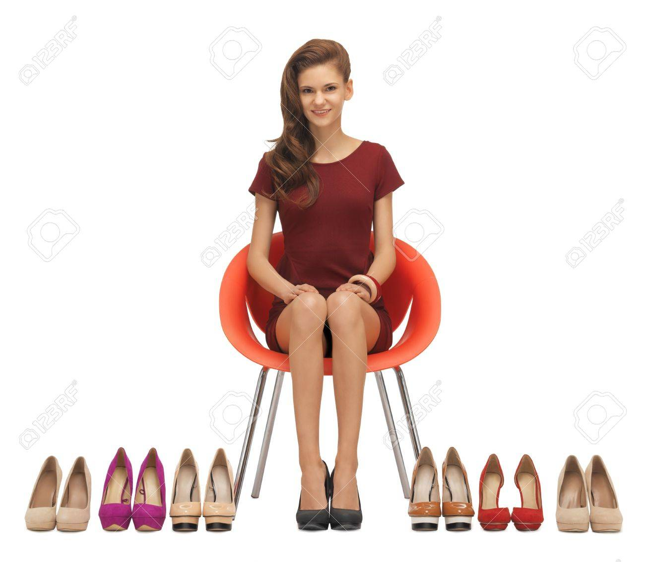Red Dress Shoes For Girls