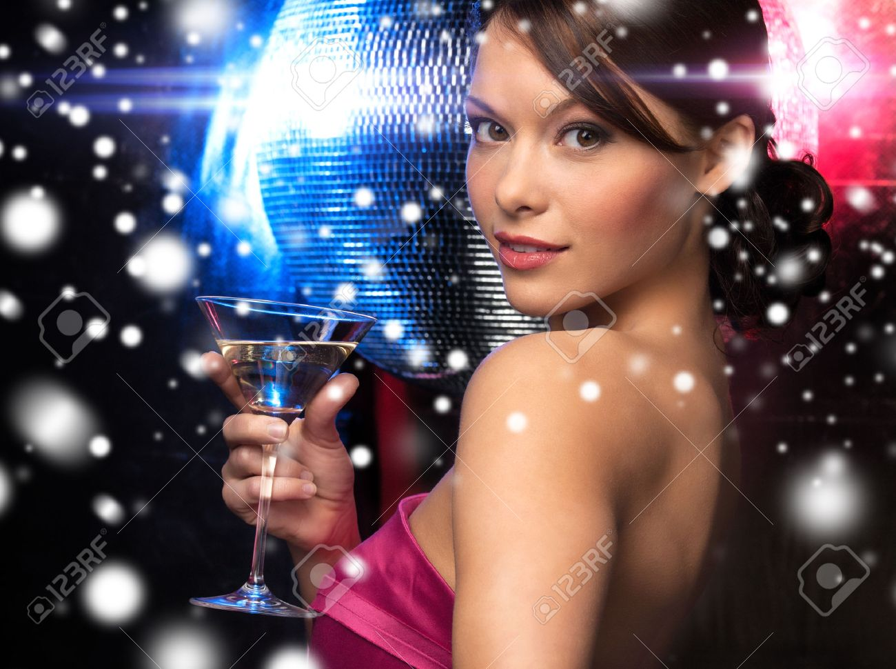 New Year's Eve Girl