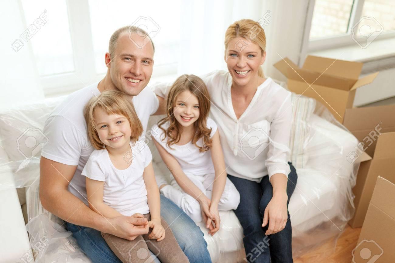 Mädchen familie