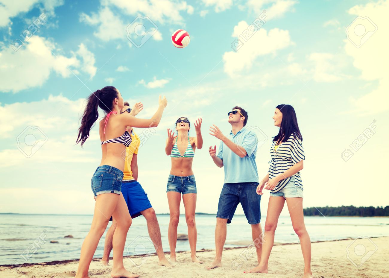 Summer Holidays Vacation Happy People Concept