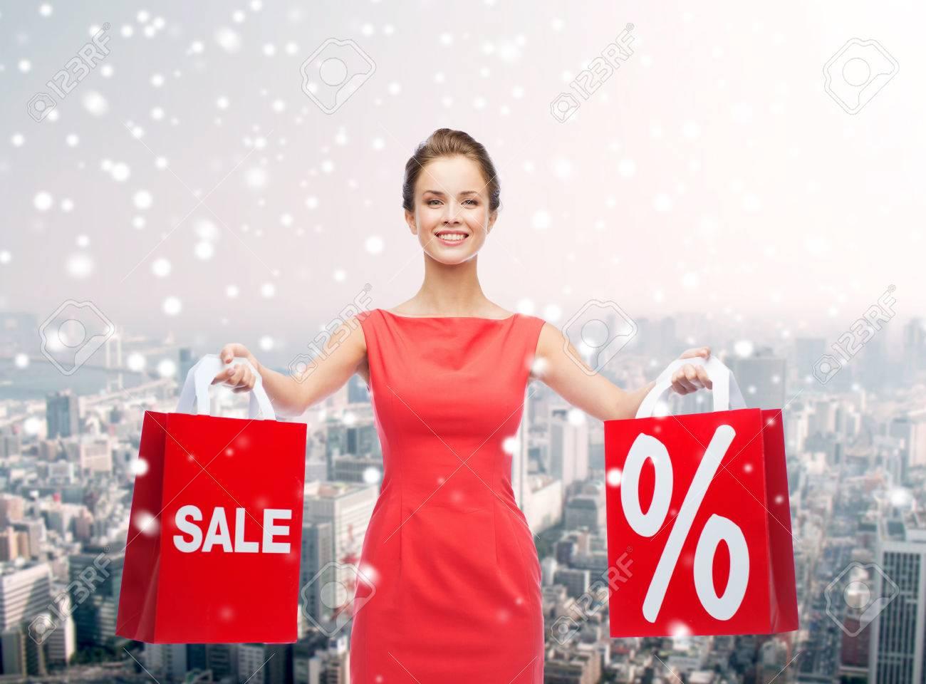 Menschen, Verkauf, Geschenke, Weihnachts-und Urlaubskonzept ...
