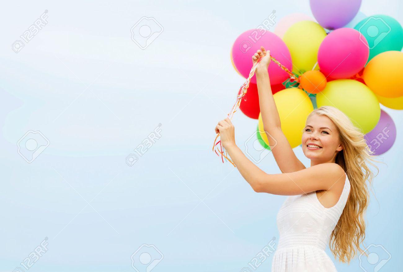 Summer Holidays Celebration Children People Concept Stock Photo ...