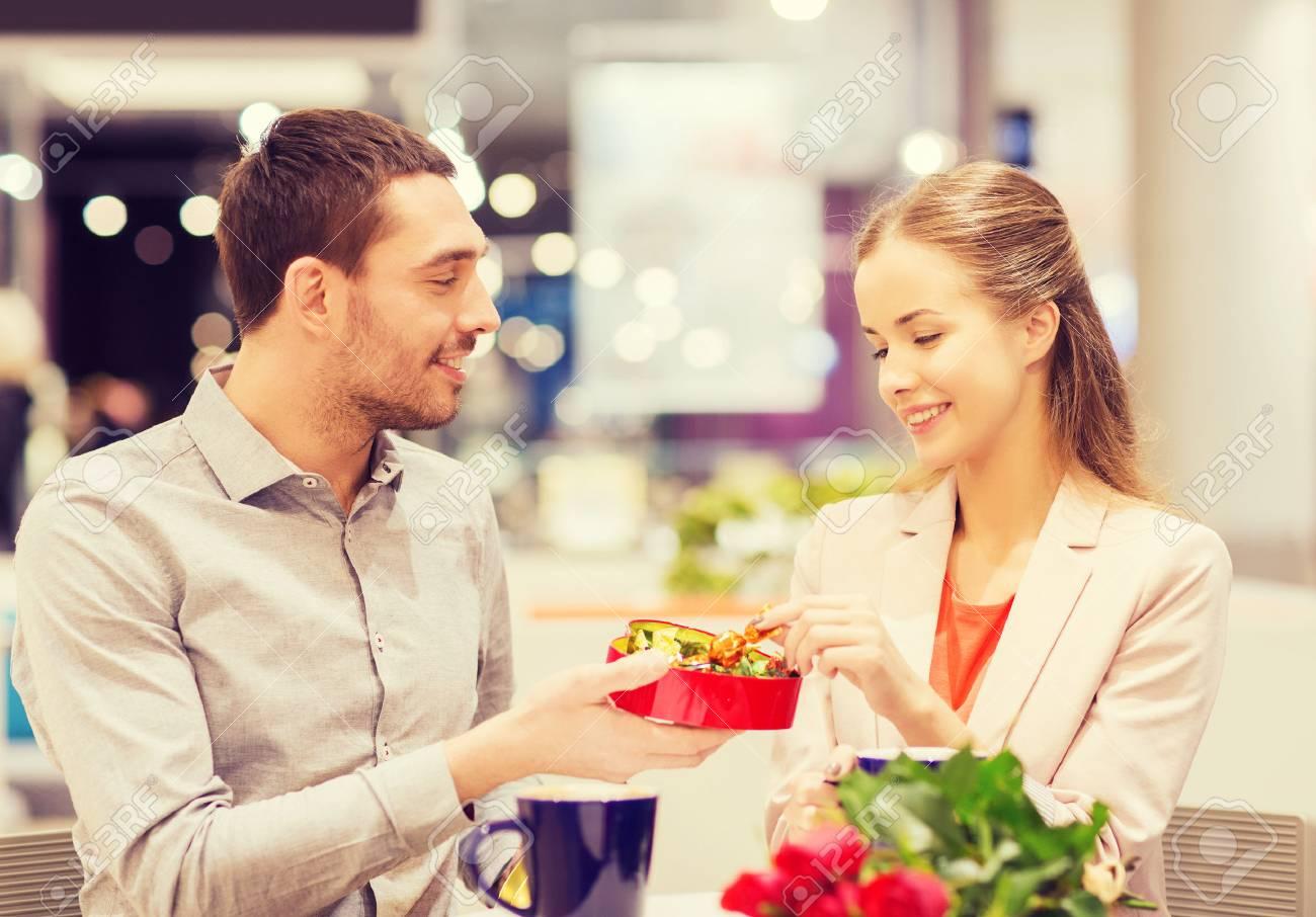 Liebe Romantik Valentinstag Paar Und Menschen Konzept