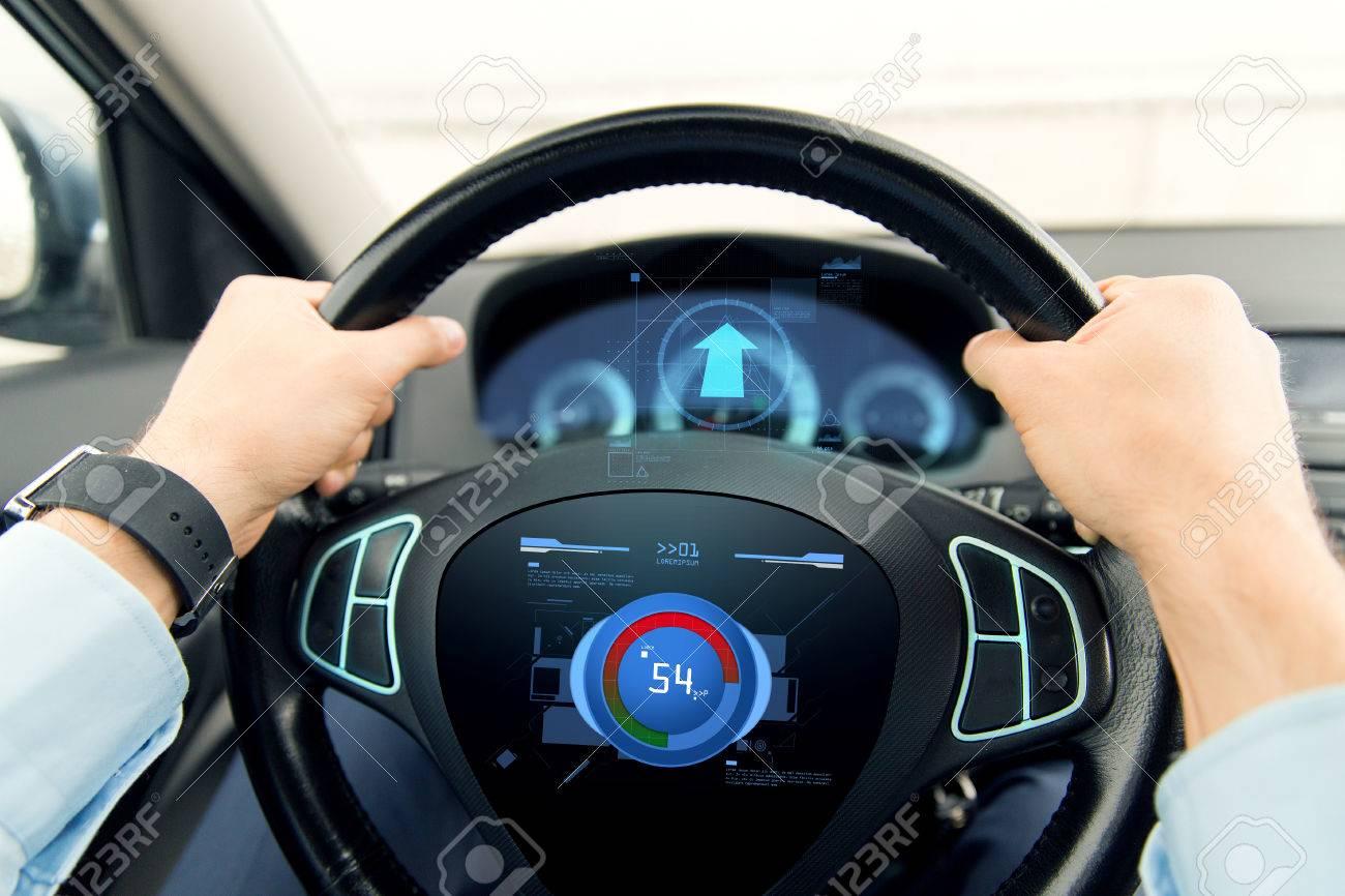 Verkehr, Geschäftsreise, Technologie Und Menschen Konzept ...