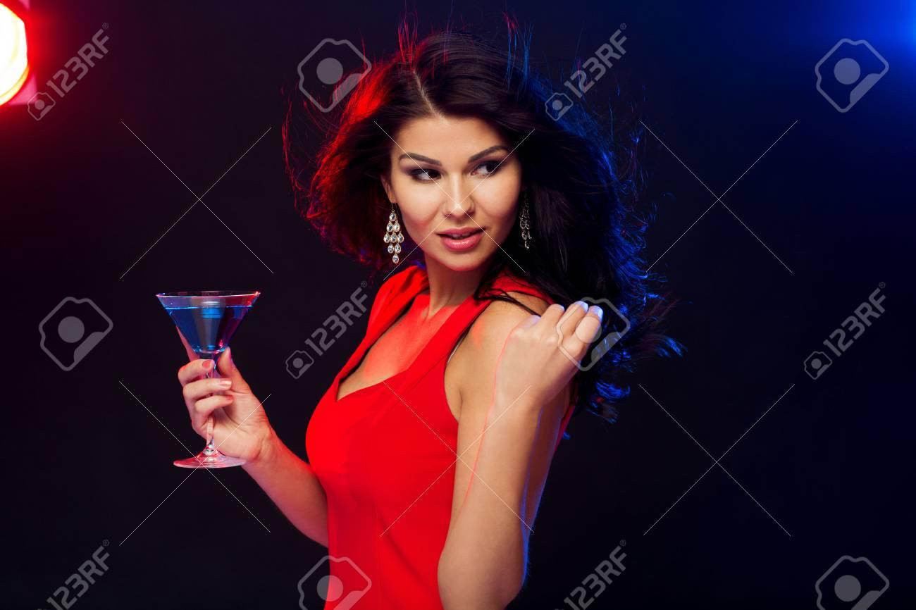 Leute-, Feiertags-, Partei-, Alkohol- Und Freizeitkonzept - Schöne ...