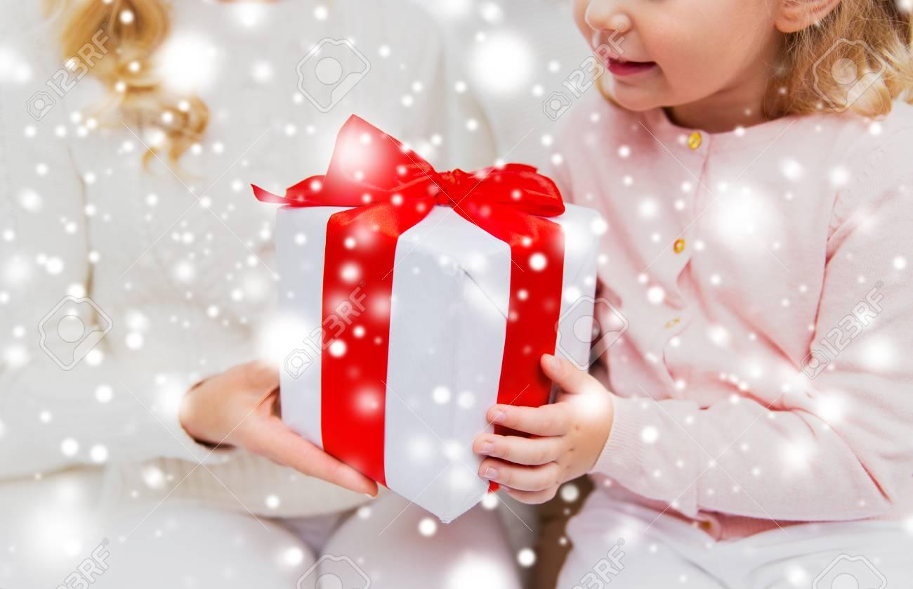 Urlaub Geburtstag Weihnachten Kinder Und Familie Konzept