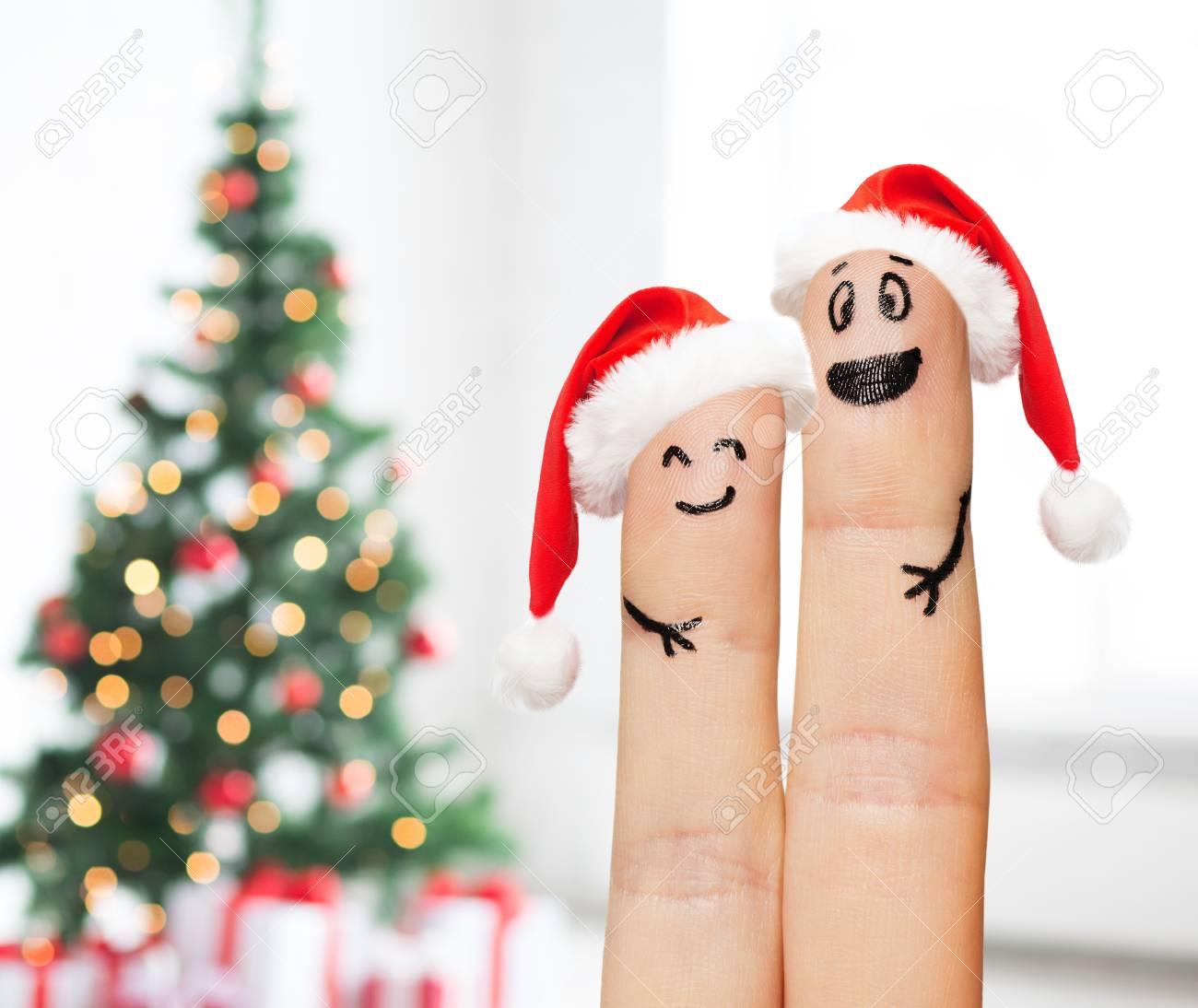 Familie, Ferien, Konzept Weihnachten Und Körperteile - Nahaufnahme ...