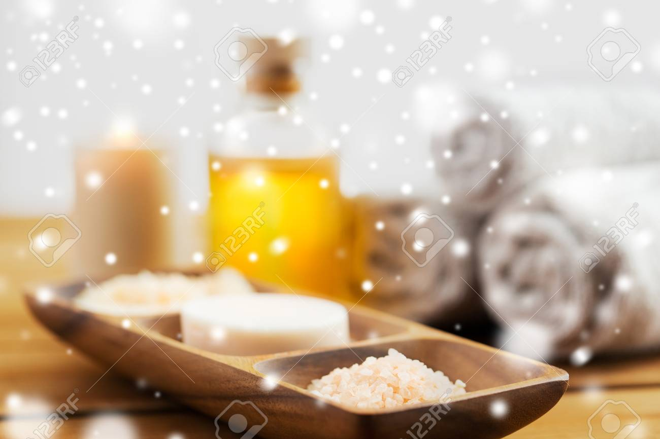 Schönheit, Badekurort, Körperpflege, Naturkosmetik Und Badkonzept ...