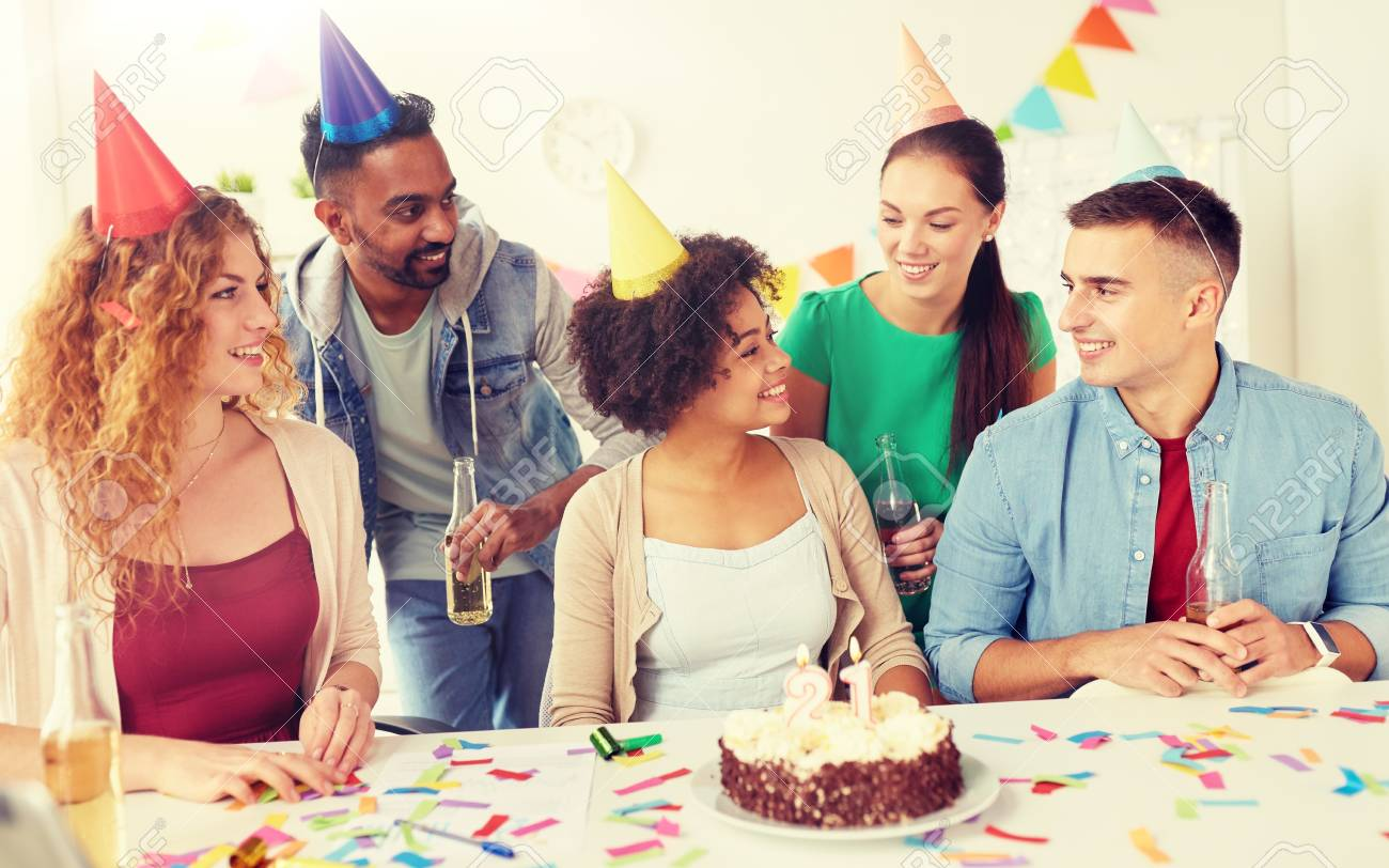 Corporate Party And People Concept