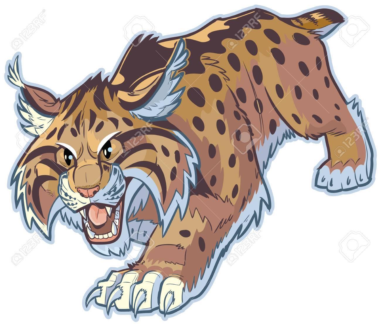 967 bobcat stock illustrations cliparts and royalty free bobcat vectors rh 123rf com free bobcat clipart black and white bobcat clipart free download