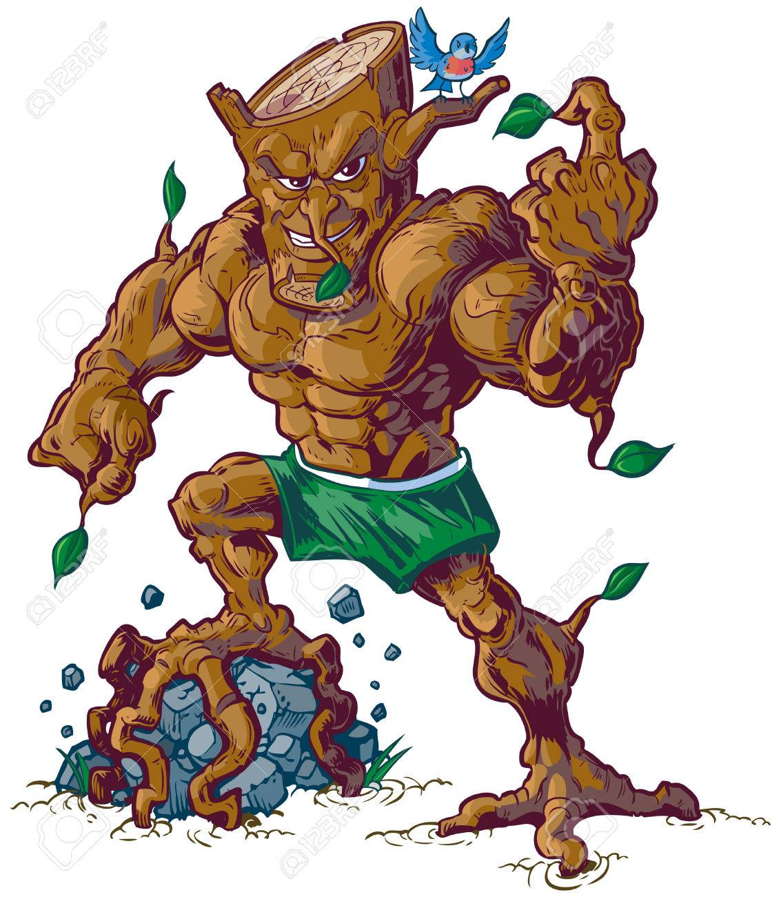 Vector Cartoon Clip Art Illustration Of A Tough Mean Tree Man Royalty Free Cliparts Vectors And Stock Illustration Image 50606774 There are 12613 cartoon tree for sale on etsy, and they cost $10.56 on average. vector cartoon clip art illustration of a tough mean tree man