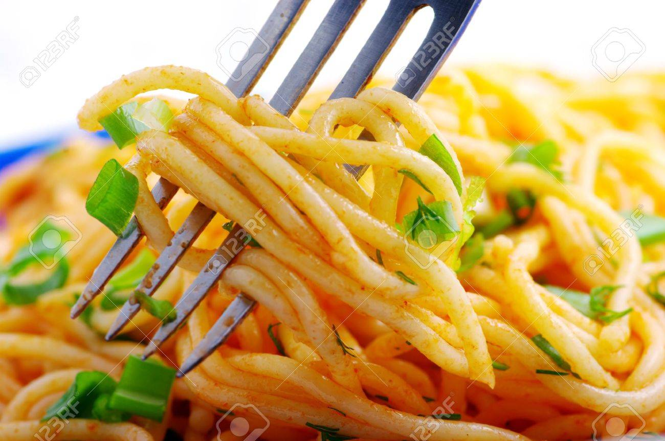 pasta with vegetables Stock Photo - 8886072