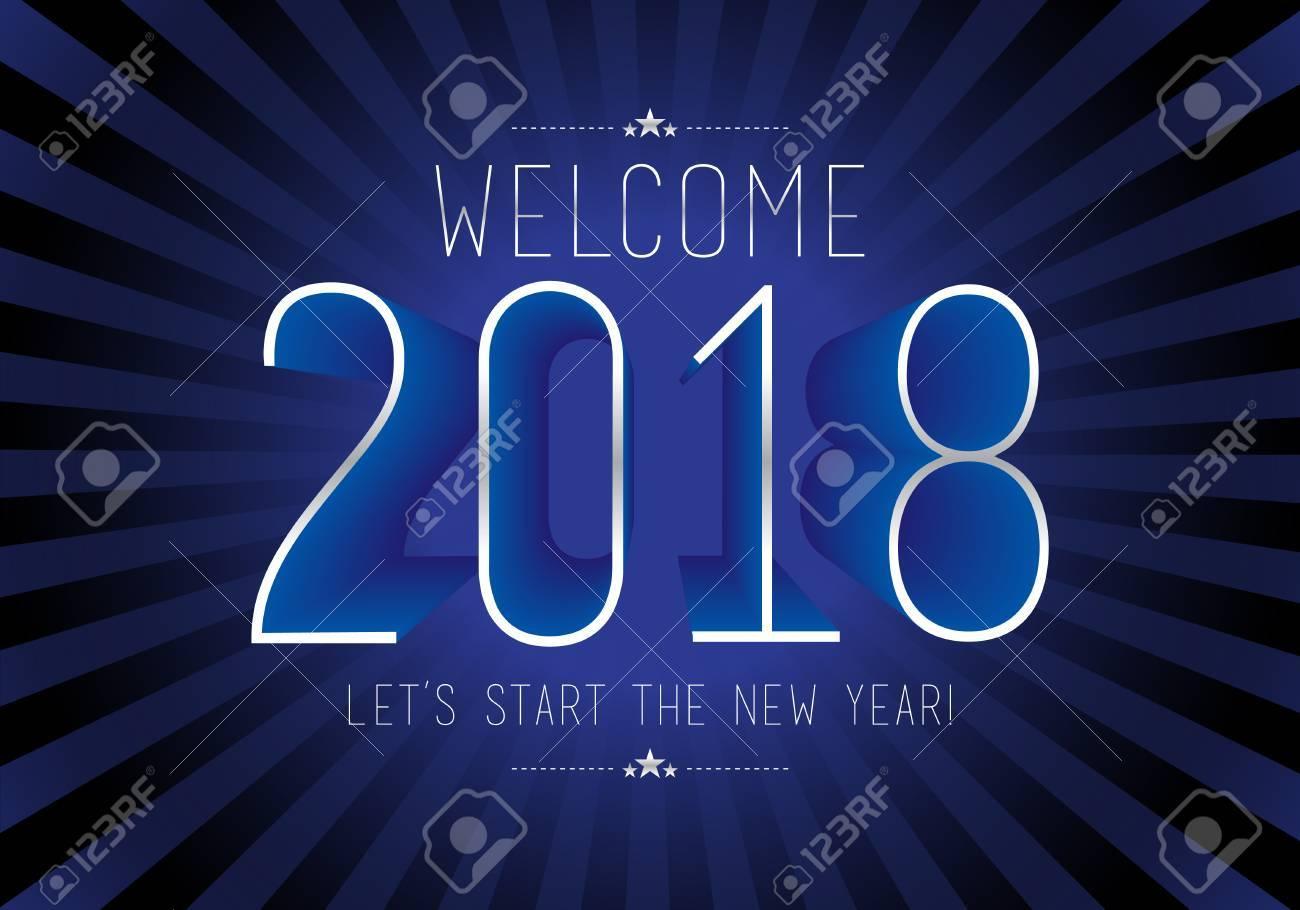 Frohes Neues Jahr 2018, Wünsche Dir Alles Gute, Wie Immer In Diesem ...