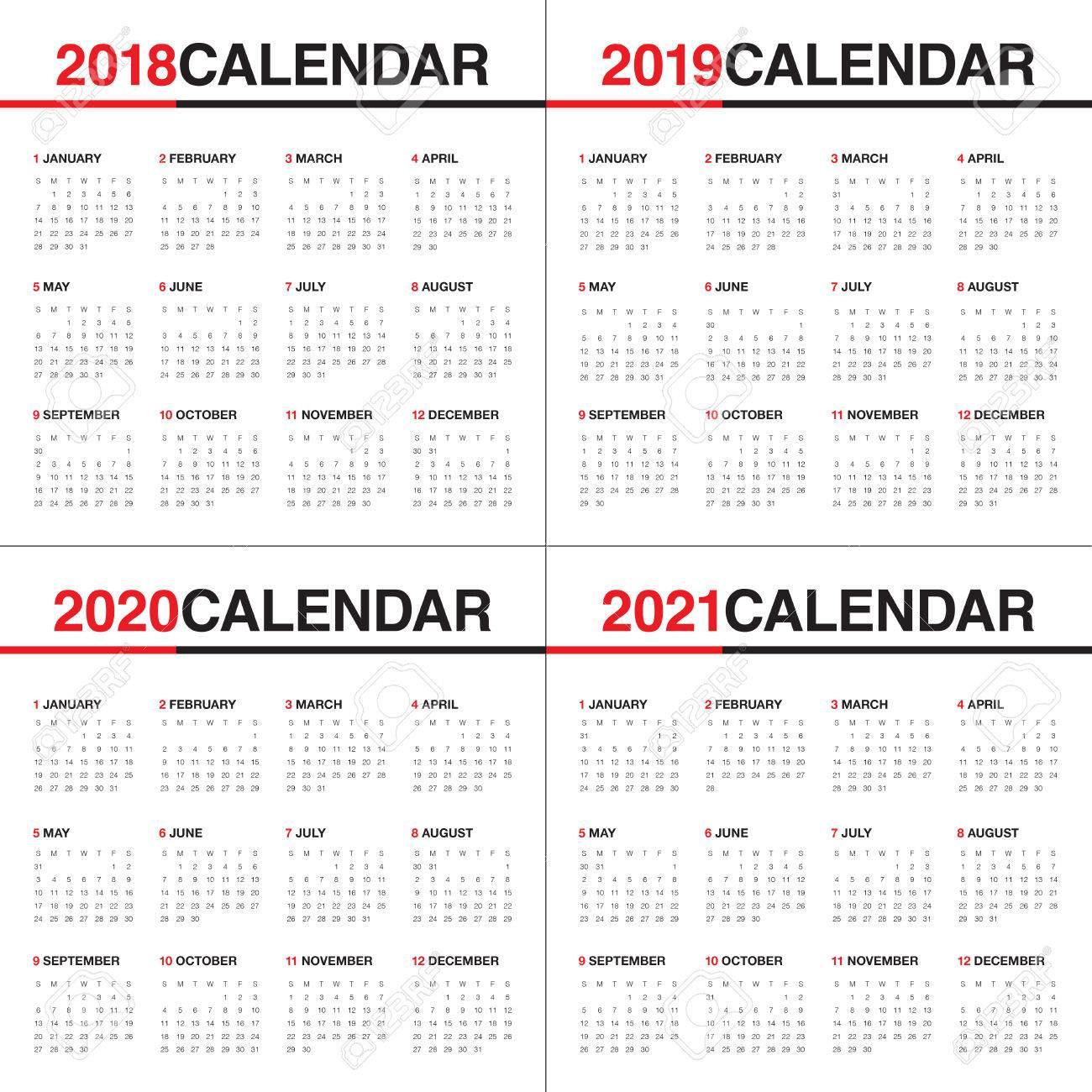 Calendario 2020 Con Foto Gratis.Plantilla Calendario 2020