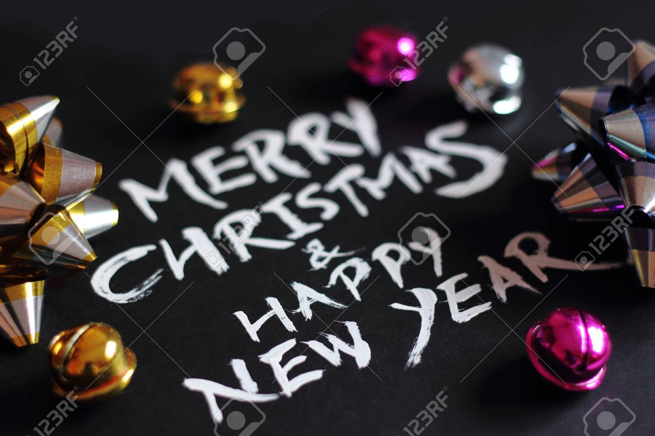 merry christmas and happy new year we wish you a new year filled with wonder